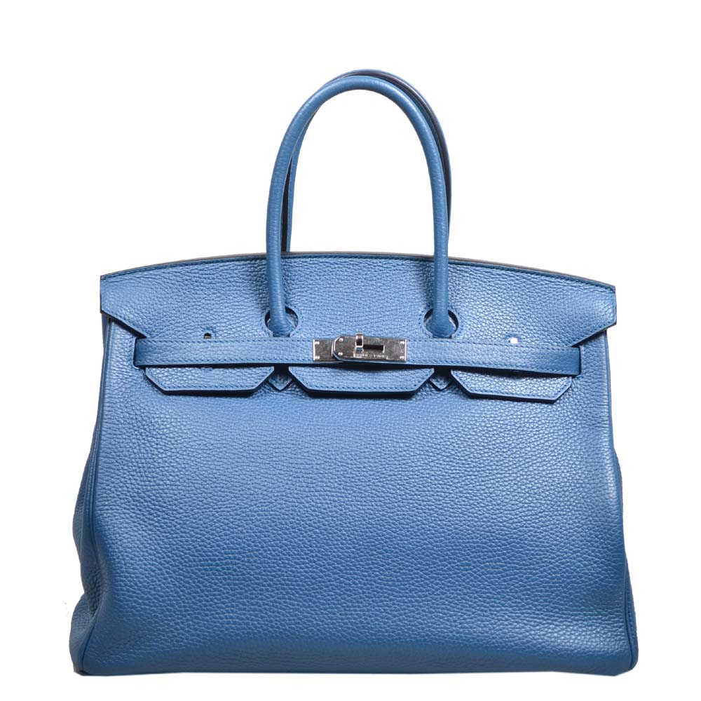 Hermes Birkin 35 blue de galice togo leather hardware palladium_8 Kopie