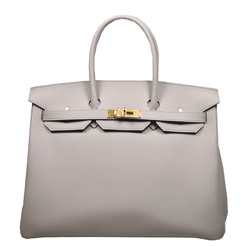 494f2759c5 ... ruthenium hardware handbag. this refined handbag was crafted in togo  calf in g 36dcd a54c0  new zealand hermes birkin 35 togo leather gris  asphalt gold ...