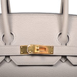 Hermes Birkin 35 togo leather Gris Asphalt gold hardware_5 Kopie
