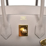 Hermes Birkin 35 togo leather Gris Asphalt gold hardware_6 Kopie