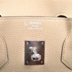 Hermes Birkin 35 togo leather trench palladium hardware_8 Kopie