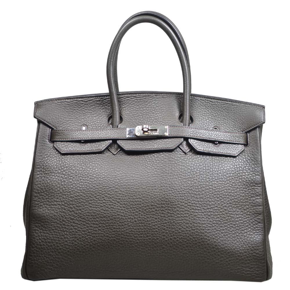 Hermes Birkin 35 vert gris clemence leather palladium hardware_1 Kopie