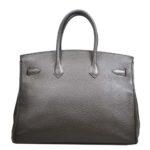 Hermes Birkin 35 vert gris clemence leather palladium hardware_3 Kopie
