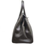 Hermes Birkin 35 vert gris clemence leather palladium hardware_4 Kopie