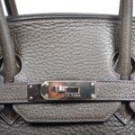 Hermes Birkin 35 vert gris clemence leather palladium hardware_7 Kopie