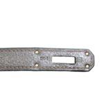 Hermes Birkin 35 vert gris clemence leather palladium hardware_8 Kopie