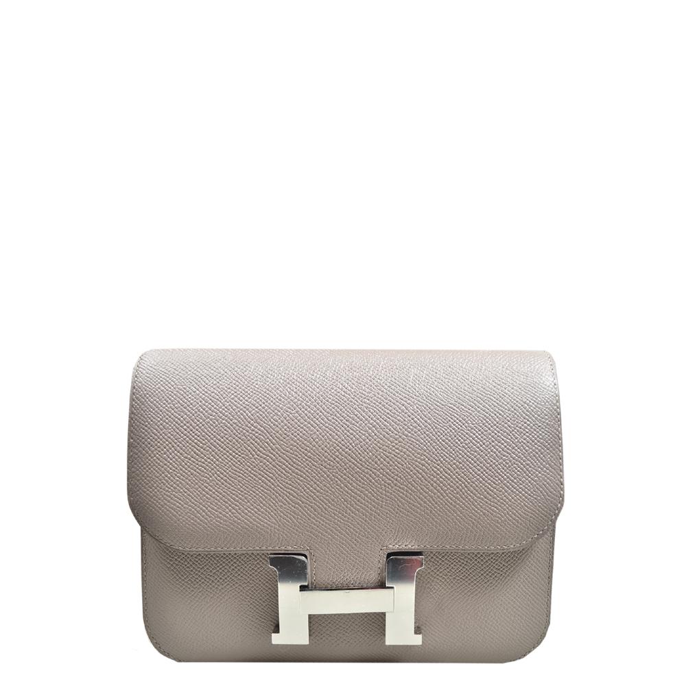 Hermes Constance III mini Epsom leather Gris Asphalt palladium Hardware_5 Kopie