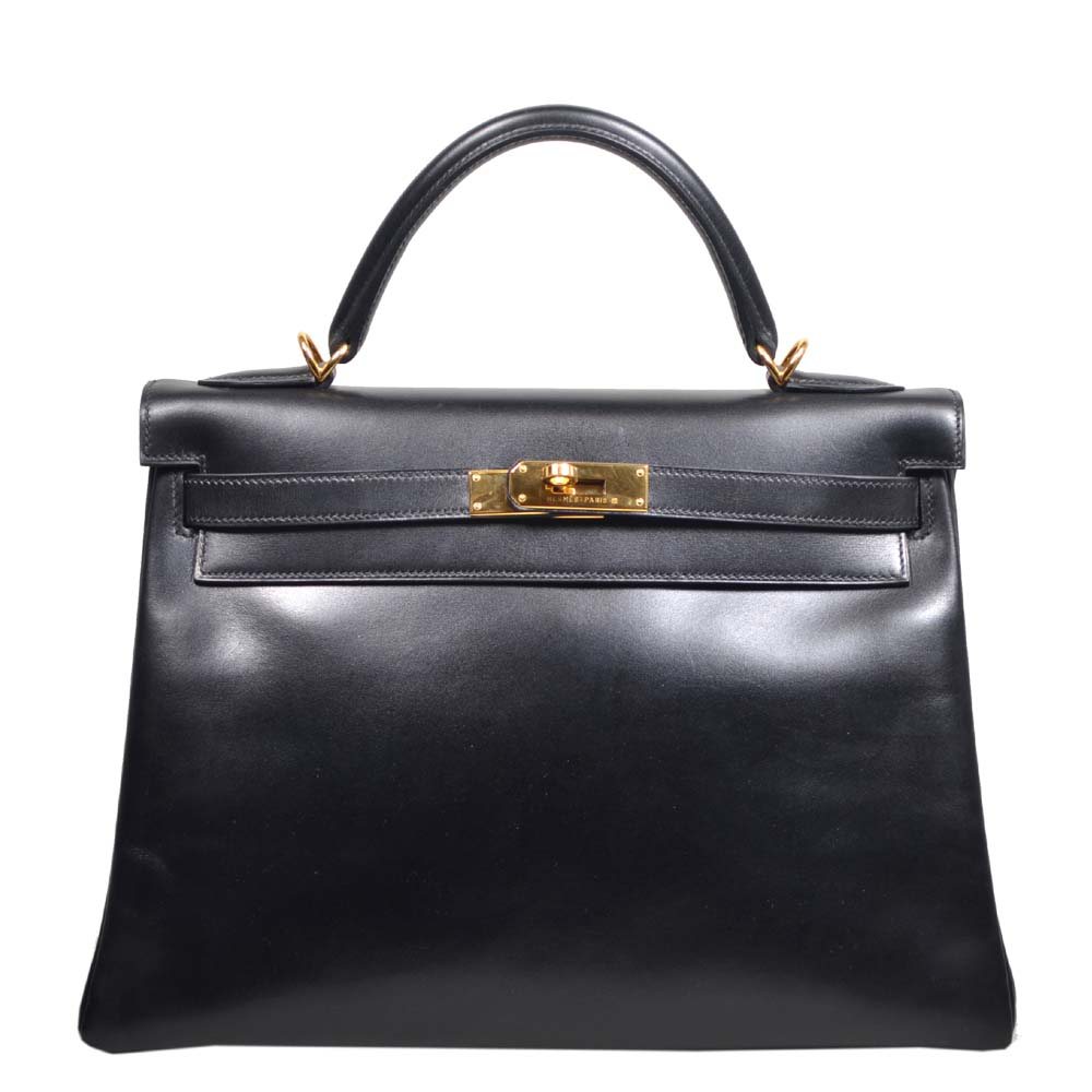 Hermes Kelly 32 black box leather hardware gold_5 Kopie