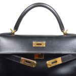 Hermes Kelly 32 black box leather hardware gold_8 Kopie
