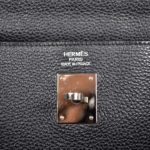 Hermes Kelly 35 black togo leather hardware palladium_3 Kopie