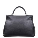Hermes Kelly 35 black togo leather hardware palladium_8 Kopie