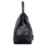 Hermes Kelly 35 black togo leather hardware palladium_9 Kopie