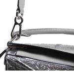 Loewe Tasche Puzzle small mettalic leather shoulder bag 10 Kopie