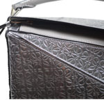 Loewe Tasche Puzzle small mettalic leather shoulder bag 3 Kopie