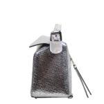 Loewe Tasche Puzzle small mettalic leather shoulder bag 5 Kopie