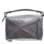 Loewe Tasche Puzzle small mettalic leather shoulder bag 6 Kopie