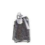 Loewe Tasche Puzzle small mettalic leather shoulder bag 7 Kopie