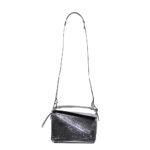 Loewe Tasche Puzzle small mettalic leather shoulder bag 9 Kopie