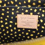 Louis Vuitton Pochette Vernis Dots gelb schwarz YAYOI KUSAMA 1 Kopie