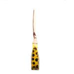 Louis Vuitton Pochette Vernis Dots gelb schwarz YAYOI KUSAMA 7 Kopie