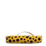 Louis Vuitton Pochette Vernis Dots gelb schwarz YAYOI KUSAMA 8 Kopie
