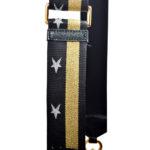 Marc Jacobs crossbody bag mini purple gold leather canvas shoulderstrap gold hardware_1 Kopie