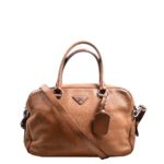 Prada Bag Bauletto lether Cognac_2 Kopie