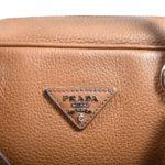 Prada Bauletto cognac leather silver hardware_1 Kopie