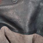 Bottega Veneta Shopper black green woven leather_6 Kopie