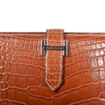 Hermes Wallet Bearn Niloticus Fauve crocodile leather Palladium_5 Kopie