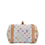 Louis Vuitton Priscilla Multicolor white canvas gold_3 Kopie