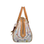 Louis Vuitton Priscilla Multicolor white canvas gold_4 Kopie