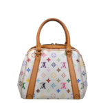 Louis Vuitton Priscilla Multicolor white canvas gold_5 Kopie