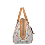 Louis Vuitton Priscilla Multicolor white canvas gold_6 Kopie