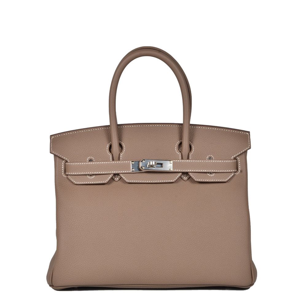 7e4f4d51efb0 ewa lagan - Hermes Birkin 30 Etoupe Togo Leather Palladium