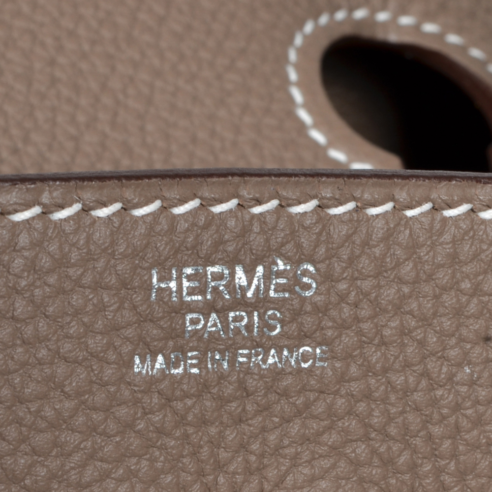 cc9a0f2be3bd ewa lagan - Hermes Birkin 30 Togo Etoupe Palladium