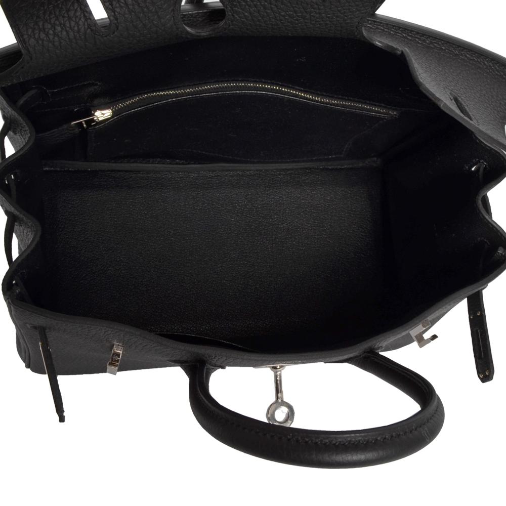 13f1e1841553 ewa lagan - Hermes Birkin 25 Black Togo Leather Palladium