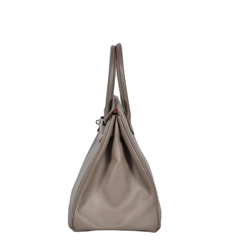 a94f88b5ce35 ewa lagan - Hermes Birkin 35 Etain Epsom Leather Palladium