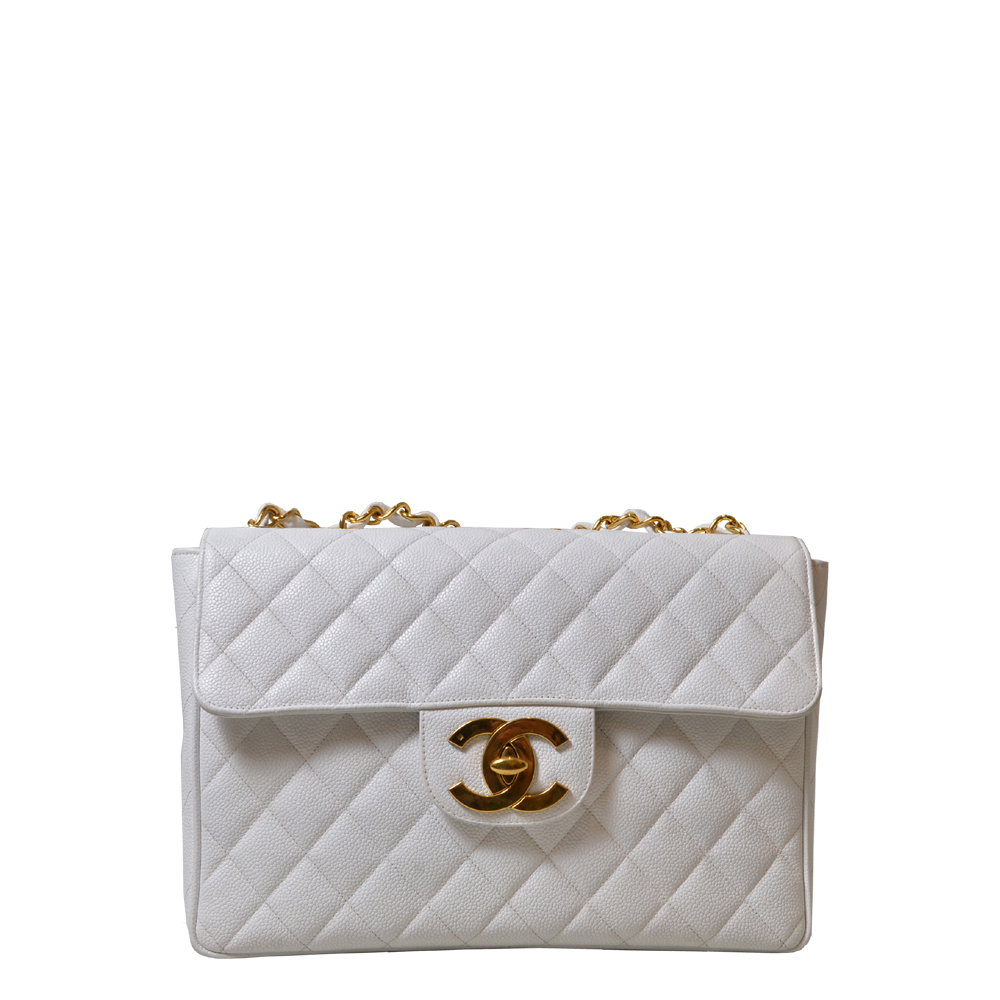 Chanel Timeless Cavier White Gold Kopie