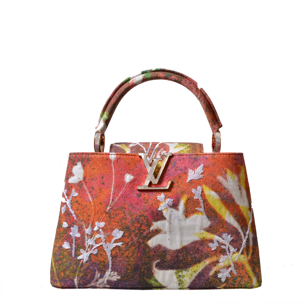 Louis Vuitton Tasche Capucines Arty PM von Sam Falls Kopie