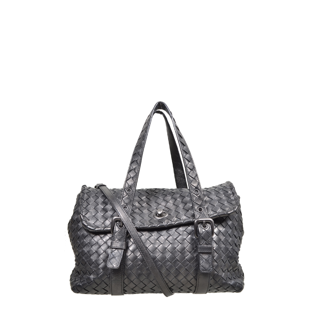 Bottega Veneta Bag Black with Shoulderstrap Kopie