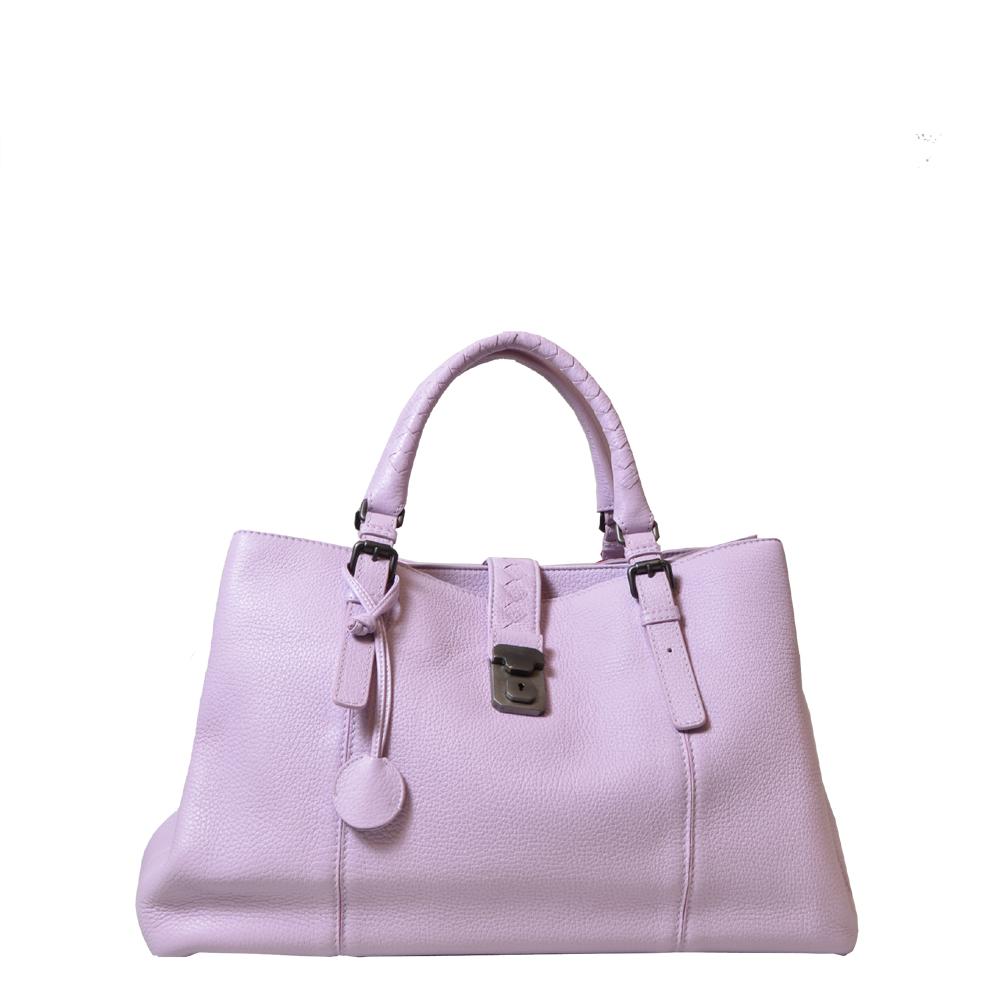 Bottega Veneta Bag Deer Leather lilac Kopie