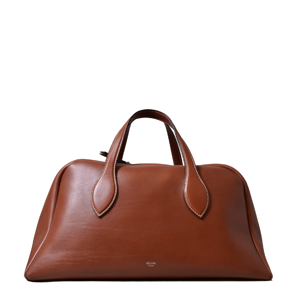 Celine Bowling Bag Brown Kopie