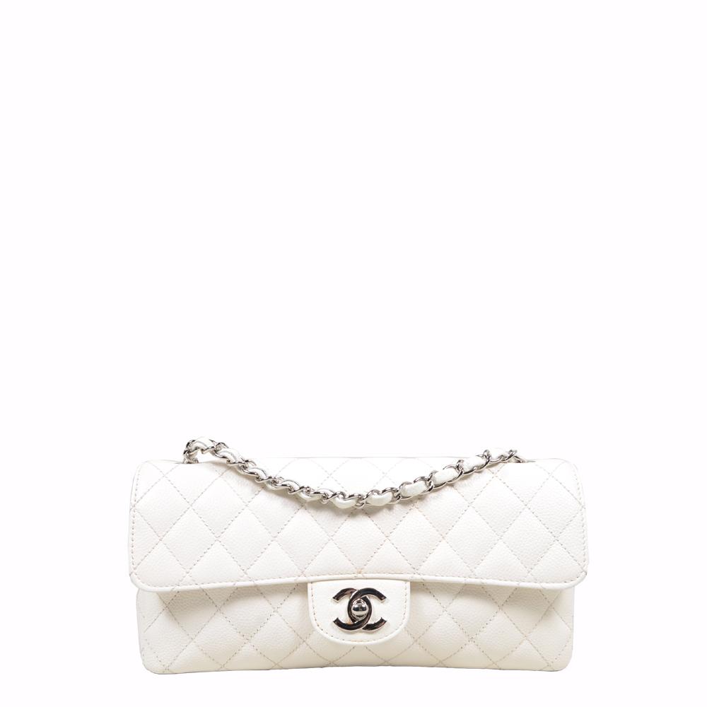 Chanel Baguette Bag White silver (25x5x13) 1