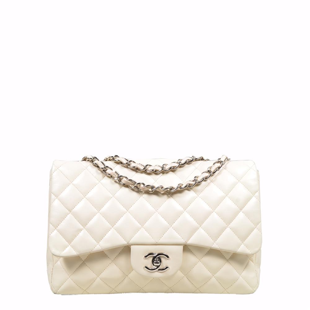 Chanel Bga Timeless Creme Silver ( 30x9x20) 3.600 Euro