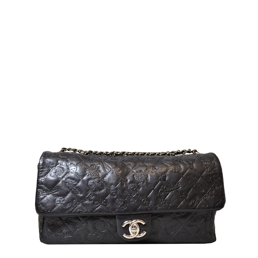 Chanel Timeless 32cm Napar Black Kopie