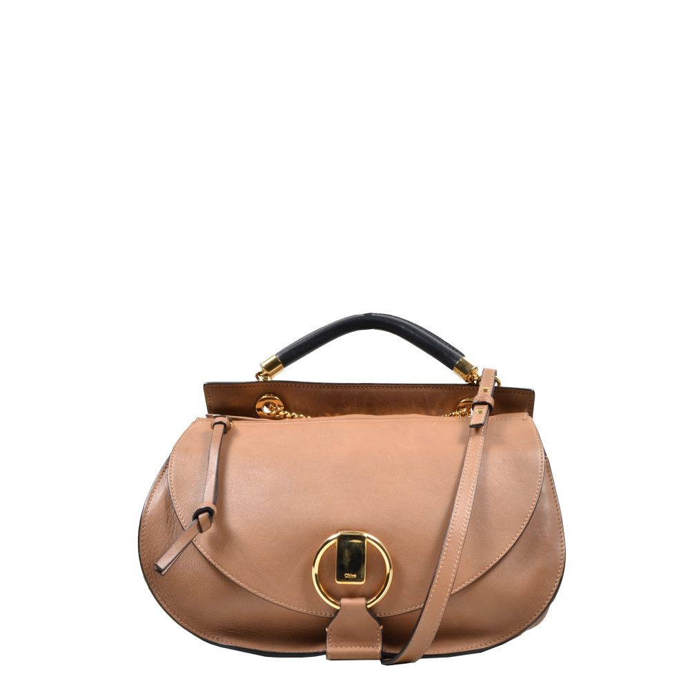 Chloe Shoulderbag leather caramel
