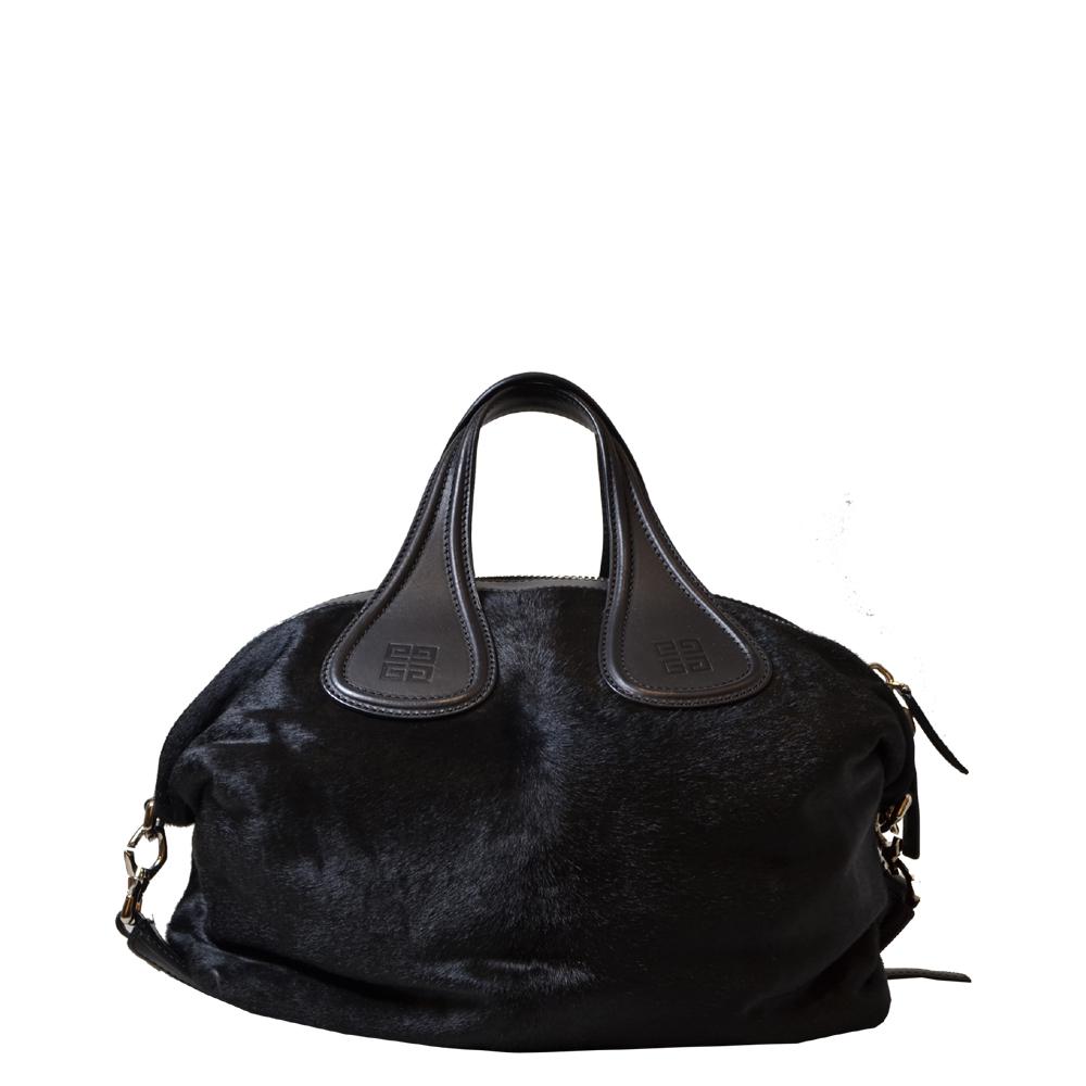 Givenchy Nightingale Black Calv Fur Kopie