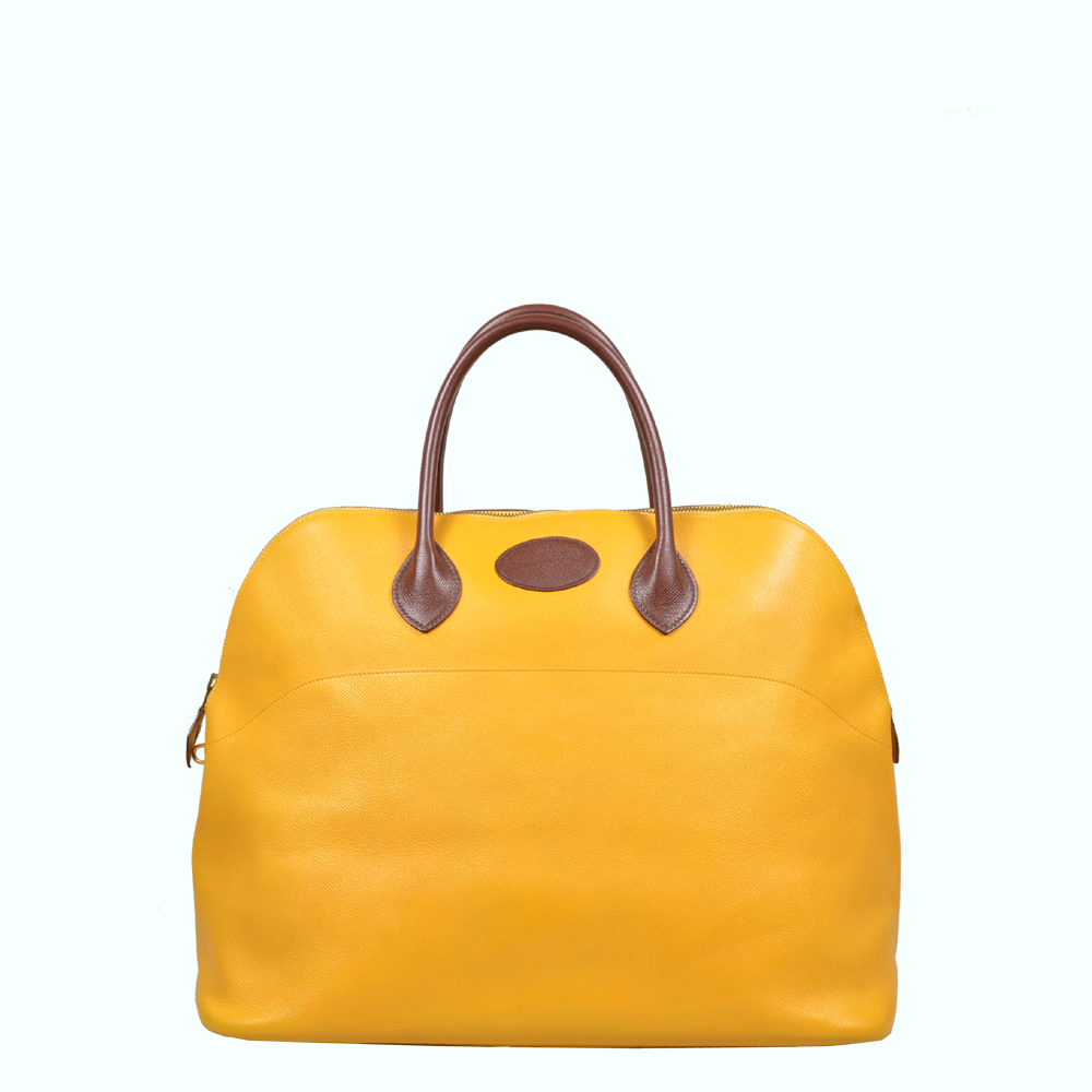 Hermes Bolide yellow brown ( ) Kopie