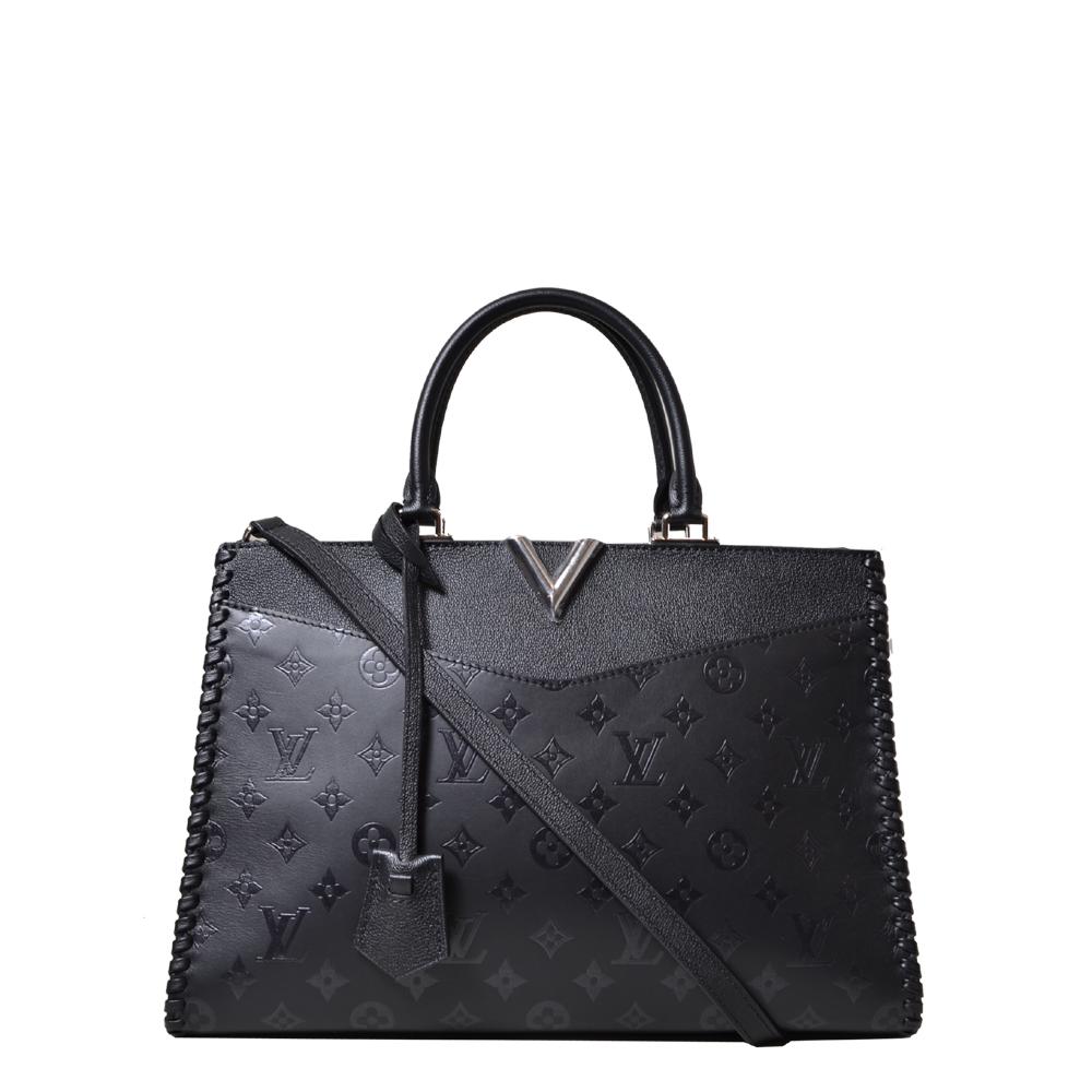 Louis Vuiton bag Very Zipped Tote Bag MM Monogram Black Kopie